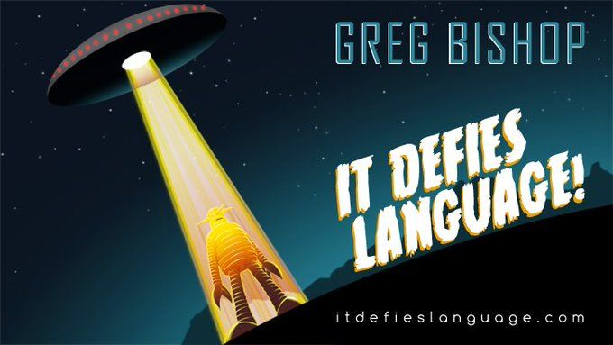 It Defies Language dot com with Greg Bishop